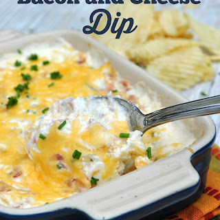 Hot Bacon and Cheese Dip.