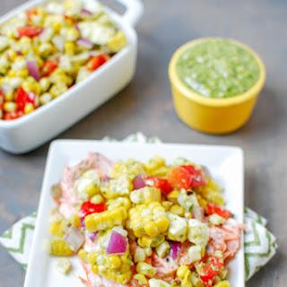 Pesto Corn Salad.
