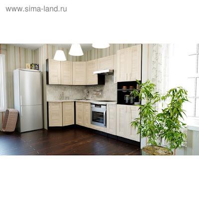 Кухонный гарнитур Ника гранд прайм 2600*1400