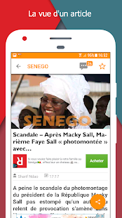 Senego: News in Senegal - náhled