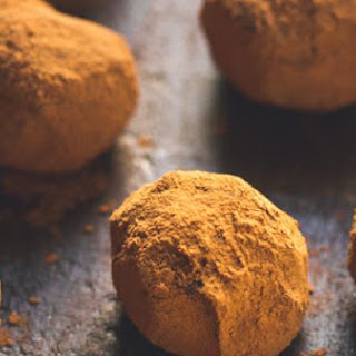 Boozy Dark Chocolate & Orange Truffles