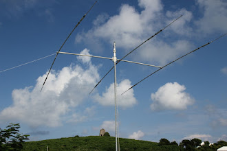 Photo: MULTIPLIER STATION TRI BANDER, uses a rope to rotate it