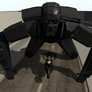 Robot Biker