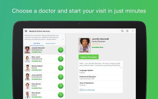 Amwell: Doctor Visits 24/7 12.0.8.015_03 screenshots 9