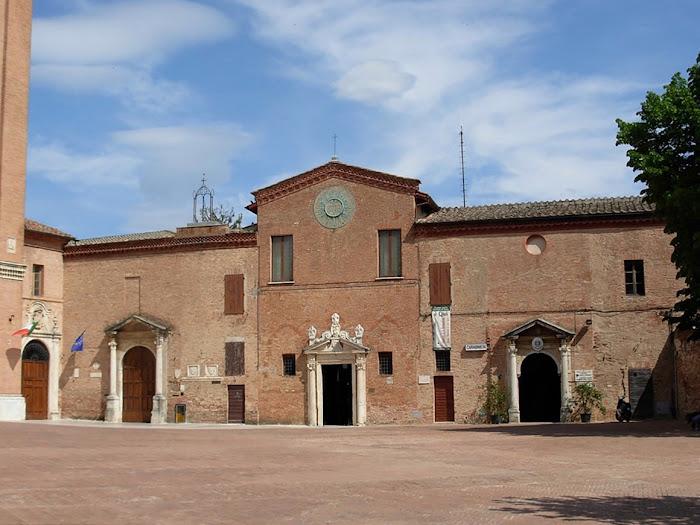 Oratorio di San Bernardino da Siena, Piazza San Francesco, Siena