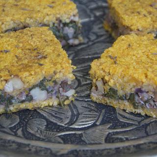 Lebanese Meatloaf [Vegan].