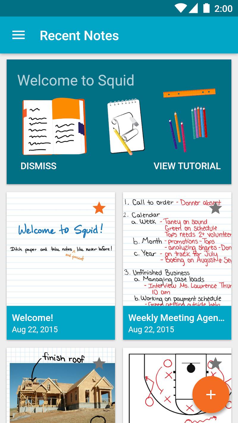 Squid - Take Notes & Markup PDFs Screenshot 1
