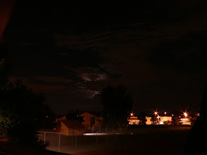 Photo: The moon over Thornton.