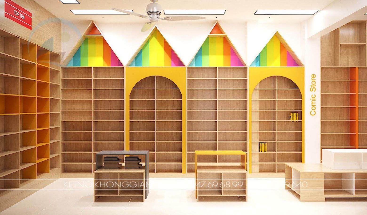 nhà sách đẹp tại hà nội