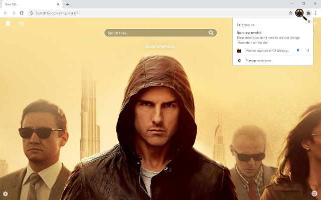 Mission Impossible HD Wallpapers New Tab