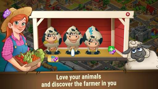Farm Dream: Village Harvest - Town Paradise Sim 1.3.0 screenshots 3
