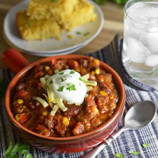 Crock-Pot Vegetable Chili.