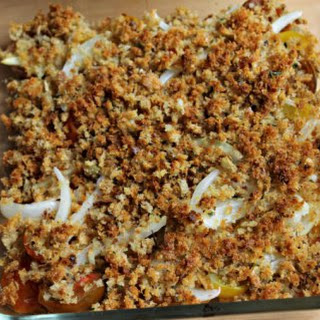 Tomatoes with Herbed Bread Crumbs Recipe