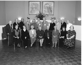 Photo: Class 1947-58th Reunion-Back:L-R= Back Row:from right, 3rd is Kyle Woods, 4th is Vance Sales