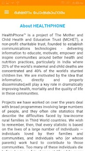FNB Malayalam HealthPhone- screenshot thumbnail