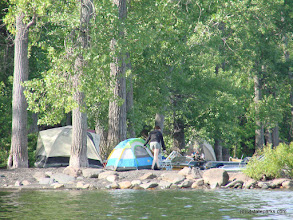 Photo: Nice spot to camp at Knight Island State Park by Sara Hayes