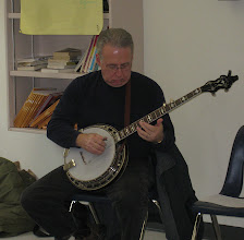 Photo: Jerry Oland, featured banjo player