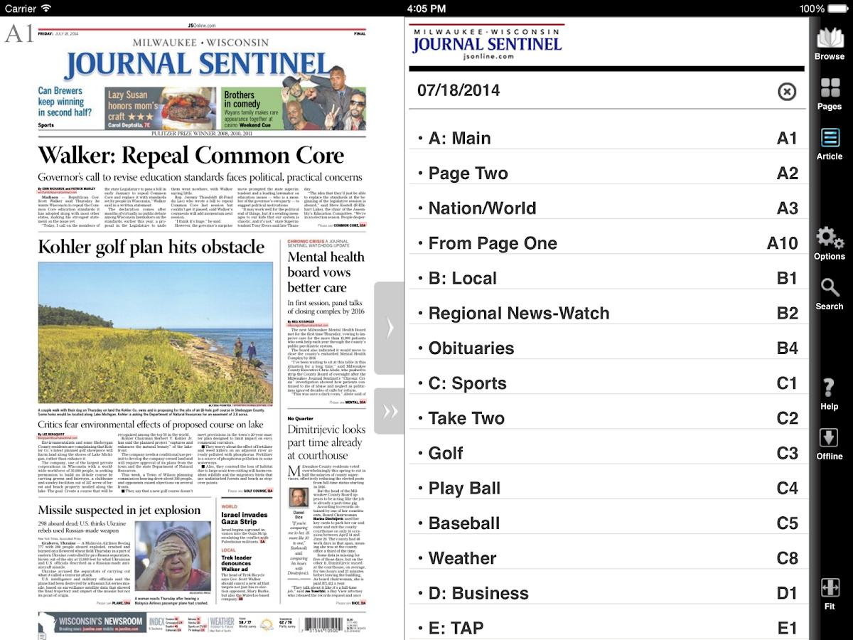Milwaukee journal sentinel done deals