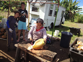 Photo: Fresh coconut treat