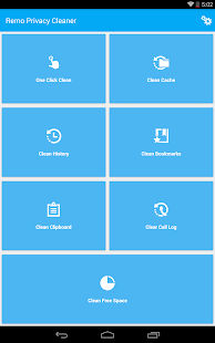 Remo Privacy Cleaner Pro Screenshot