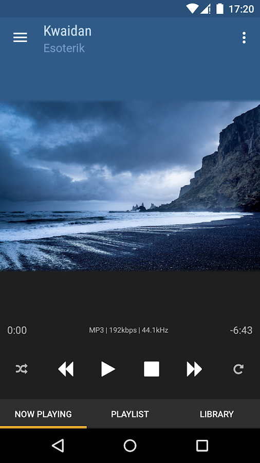 BubbleUPnP for DLNA/Chromecast: captura de pantalla