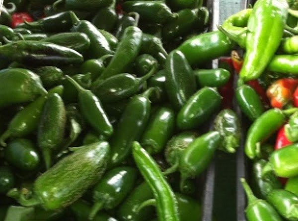 Fresh jalepeno peppers
