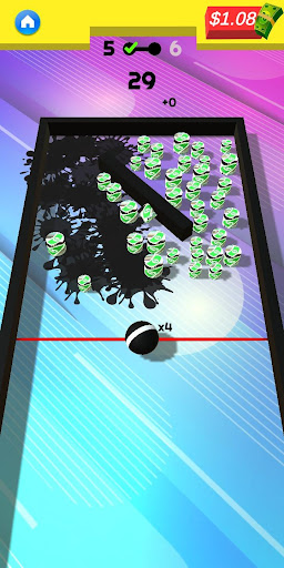 Télécharger Gratuit Paint Bounty: Ball Paint Blast Splash Shooter mod apk screenshots 5