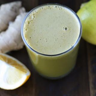 Lemon-Ginger Green Juice.
