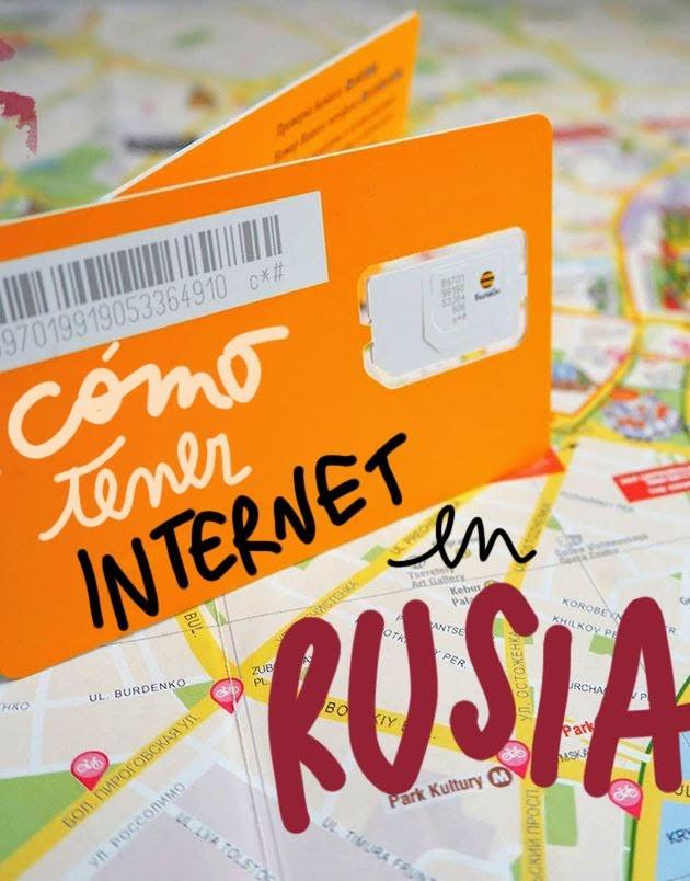 Como tener internet en Rusia