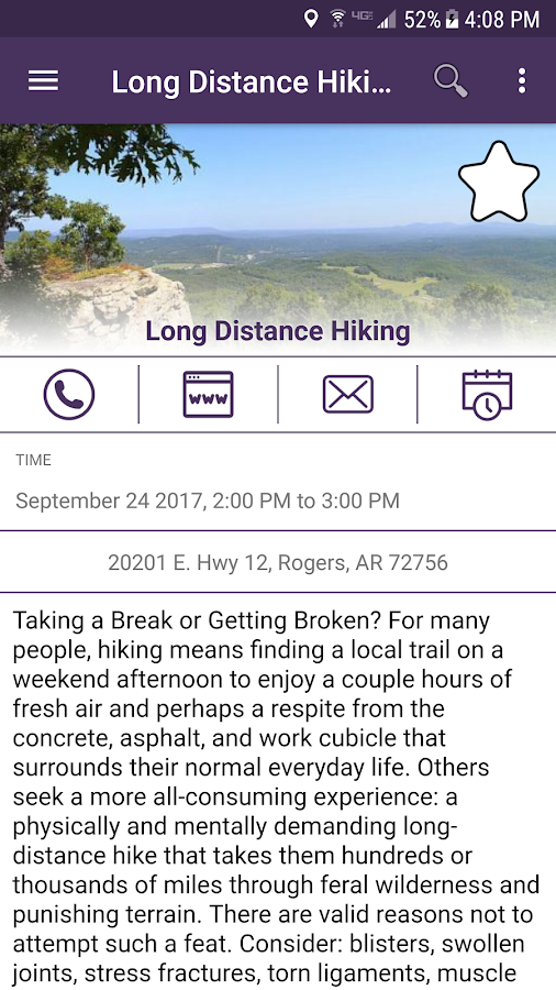 Fayetteville Arkansas Connect- screenshot