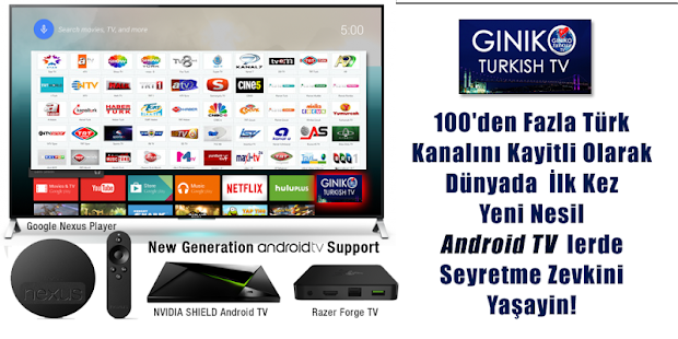 GinikoTurkish TV for AndroidTV- screenshot thumbnail