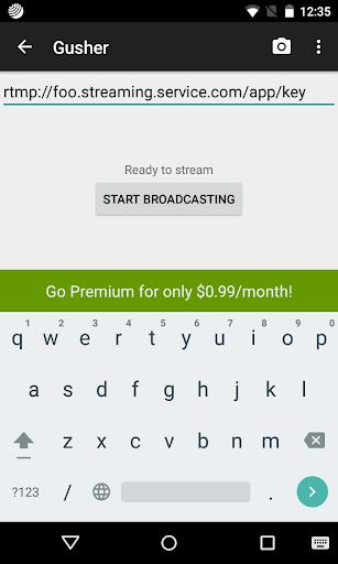 Gusher screen broadcaster apk download | downloada2z | pinterest.
