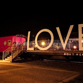 Manassas VA, LOVE works signs by Michael Keel - Products & Objects Signs ( manassas va, civil war, love works signs )