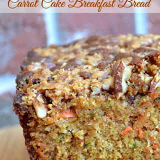 Carrot Cake Breakfast Bread.