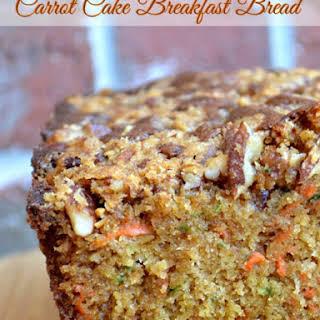 Carrot Cake Breakfast Bread.