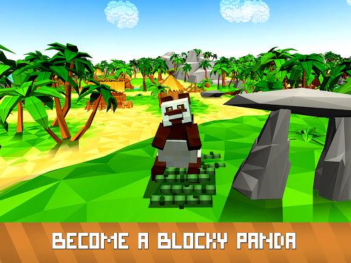 Blocky Panda Simulator - be a bamboo bear! 2.2.4 screenshots 5