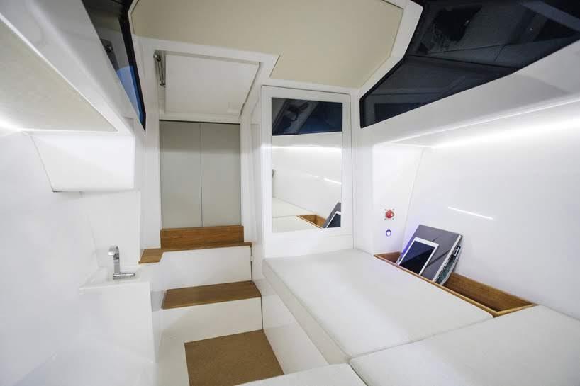 Q-yachts Q30:el futuro de la navegación eléctrica con un diseño minimalista