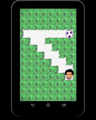 لعبة محمد صلاح و الكرة - screenshot