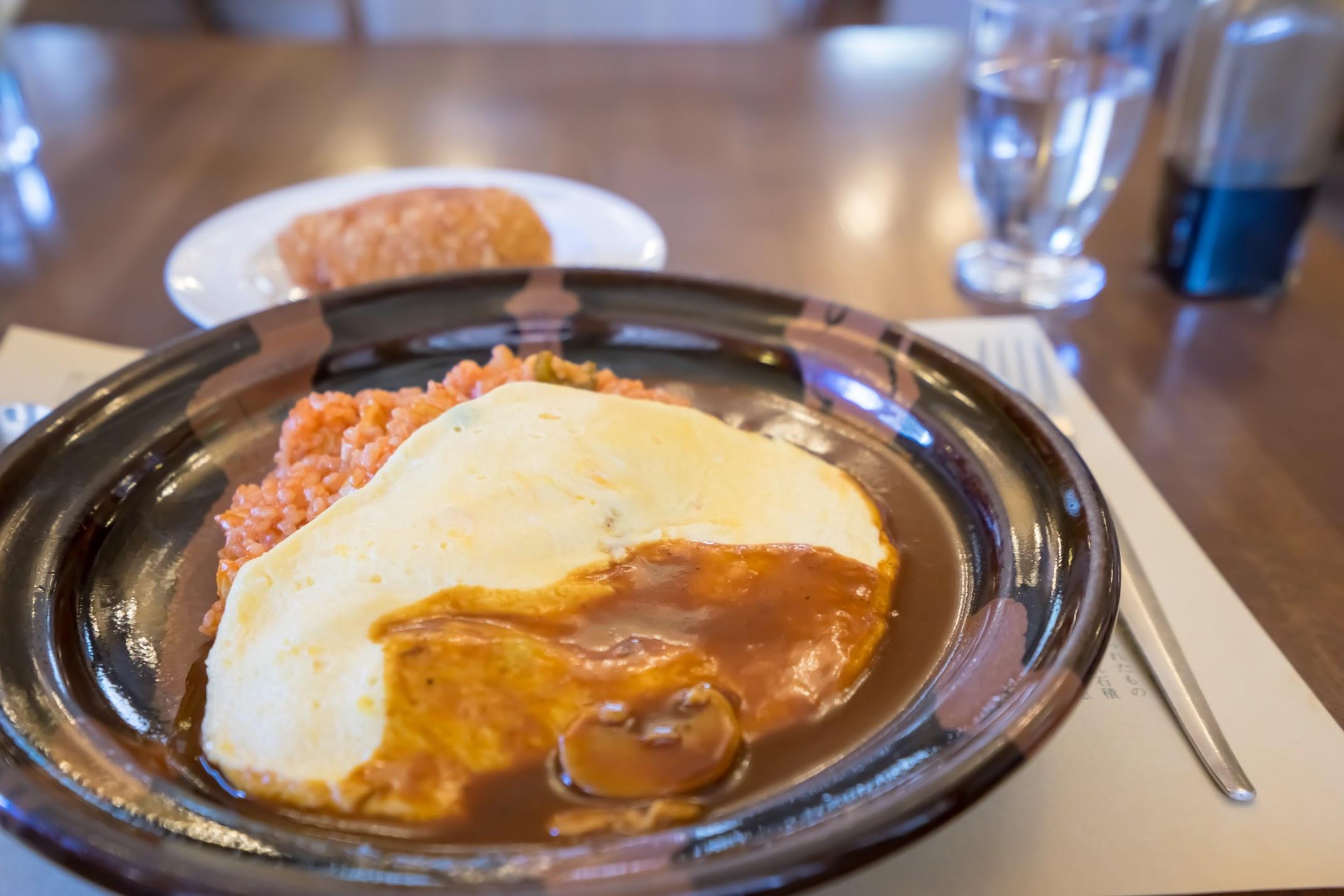 Nikko Meiji-No-Yakata Rice Omelet