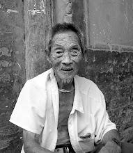 Photo: Old Man of Dangjiacun 14th C. Village near Xi'an