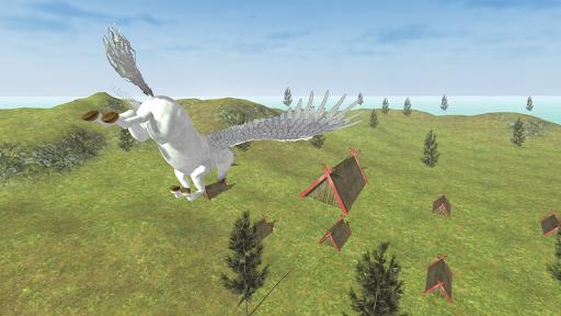 Flying Unicorn Simulator Free screenshot 9
