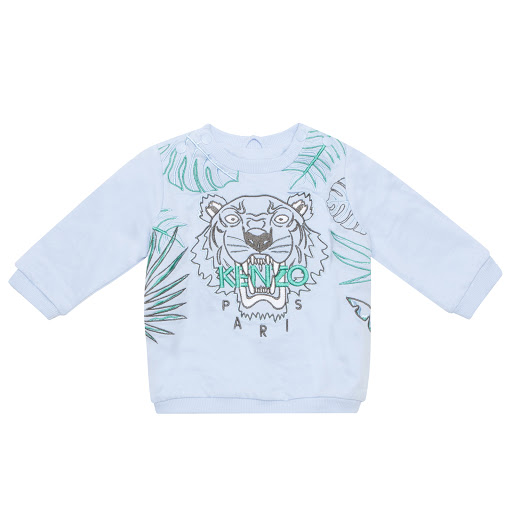 Primary image of Kenzo Kids Blue Tiger Sweatshirt