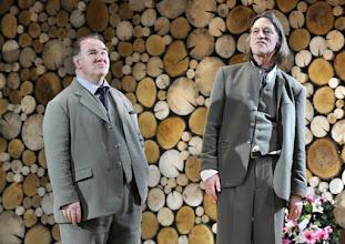 Photo: Wien/ Theater in der Josefstadt: AUSGELÖSCHT von Thomas Bernhard. Premiere: 25.2.2016. Inszenierung: Oliver Reese. Udo Samel, Wolfgang Michael. Copyright: Barbara Zeininger