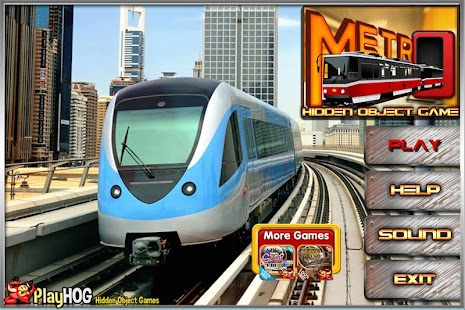 Challenge #229 Metro New Free Hidden Objects Games - náhled