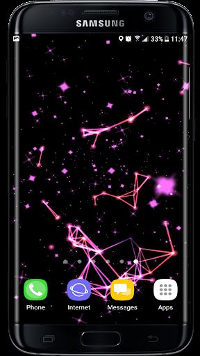 Radiant Particles Glitters 3D Live Wallpaper  screenshots 1