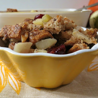Apple, Walnut and Cranberry Stuffing.