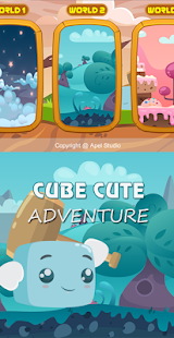 Download Cute Cube Adventure For PC Windows and Mac apk screenshot 1