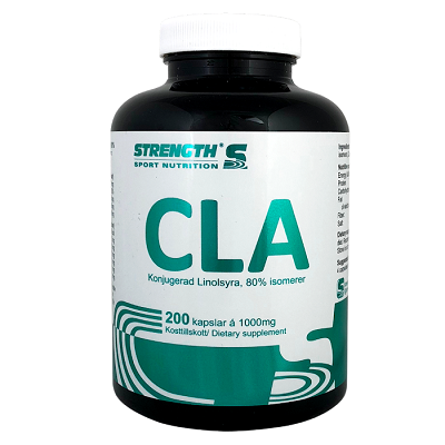 Strength CLA, konjugerad linolsyra 200 kapslar