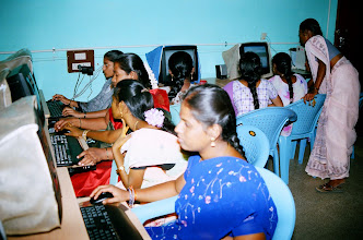 Photo: A collective learning of the use of internet and email
