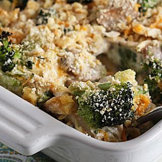 Chicken Broccoli Casserole.
